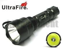 Ultrafire C8 Cree XM-L2 U2 Single Mode LED 18650 Flashlight
