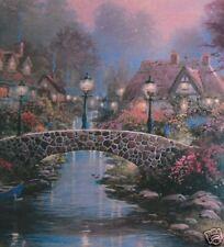 Thomas Kinkade Lamplight Bridge Limited Edition Print