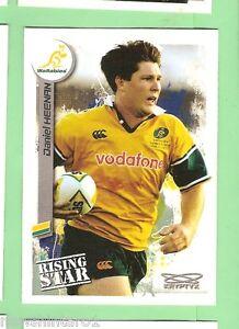 2003  RUGBY UNION CARD  #87  DANIEL HEENAN, AUSTRALIAN WALLABIES