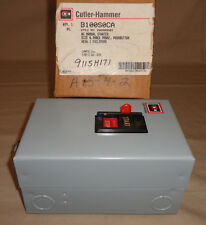 Cutler Hammer B100S0CA Three Phase AC Manual Electric Motor Starter Size 0 NEW