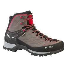 SALEWA MTN Trainer Mid GTX Gore-tex MS Scarponi Uomo Charcoal/papavero UK 8 EU 42