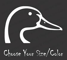 Duck Head Vinyl Decal for Car Truck Windows Sticker Browning Hunting  Waterfowl