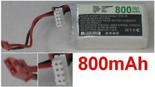 Batterie 11.1V 800mAh type JST-SYP-2P JST-XH-2.54 AWG24  Generic RC Airplane