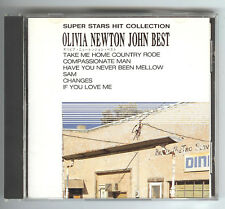 CD OLIVIA NEWTON-JOHN BEST SUPER STARS HIT COLLECTION Japan FM-006