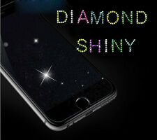 Diamond Glitter 9H Tempered Glass Screen Protector For iPhone 5 5S SE 6 S Plus 7