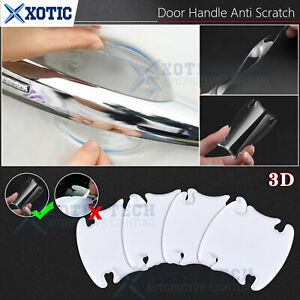 3D Door Handle Bowl Paint Scratch Protect Film Sticker Cover For Hyundai KIA
