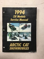 1994 Arctic Cat Snowmobile Service Manual Zr Models
