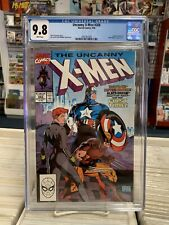 UNCANNY X-MEN #268 (1st Printing) CGC Graded 9.8!  ~WHITE Pages