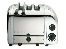 More details for dualit classic combi 2 + 1 three slot toaster 3 slice stainless steel gsp