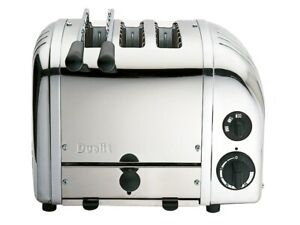 Dualit Classic Combi 2 + 1 Three Slot Toaster 3 Slice Stainless Steel GSP
