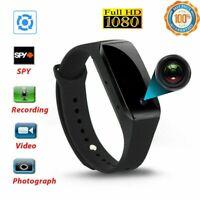 1080P Bracelet Smart Watch Wristband Camera Mini DVR Video Recorder