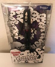 "BLEEDING EDGE GOTHS ""DAGGER"" FIGURE HORROR GOTHIC DOLL NOS 2003"
