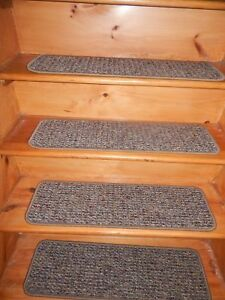 "13 STEP 9""X 30"" + LANDING 27'' X 30'' Stair Treads Staircase WOVEN CARPET"