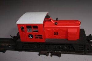 Atlas 6112 High Rail Plymouth Diesel Switcher - Illinois Central #22