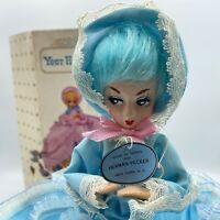 VINTAGE HERMAN PECKER & CO., NEW YORK, N.Y. Your Hostess Doll 1960's Blue