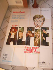 manifesto, ALFIE,1966, Lewis Gilbert, Michael Caine,Winters,CANNES,Symeoni art
