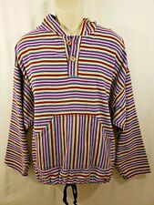 AUTHENTIC AZTEC LEGARRO BAJA SHIRT LONG SLEEVE PULLOVER HOODIE SIZE L UNISEX