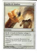 MAGIC MTG - ANELLO DI ALADINO - ORO - RARA -  IN ITALIANO