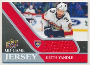 2020-21 Upper Deck Game Jerseys #GJKY Keith Yandle
