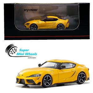 Kyosho 1:64 -  Toyota GR Supra (Yellow) - Diecast Model