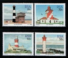 RSA - SOUTH AFRICA 1988 - Lighthouses of South Africa SG 649-652 MNH