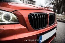 schwarz hochglänzende Nieren für BMW X1 E84 Frontgrill Kühlergrill salberk 8401L