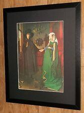 Arnolfini Marriage - Jan Van Eyck print - 20''x16'' frame, Masters paintings