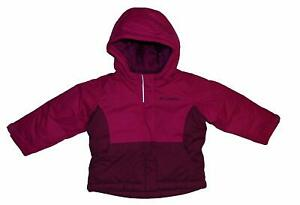 Columbia Girl 3T Cape Royal III Winter Parka Ski Winter Coat Jacket PINK