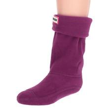Hunter Girls Violet Fleece Welly Boot Socks Sz XS (5-7K)  4009