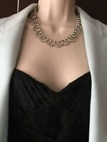 Vintage Diamante Diamond Paste Rhinestones Collar Necklace