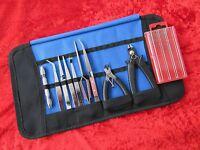 Craft Model Hobby Tools Kit Suit Warhammer & Airfix Modeller Tamiya & Case SET 6