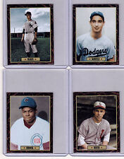 Lot of 4: Koufax/Roger Maris/Lou Brock/Pee Wee Reese Ultimate Card Collection