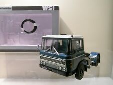 WSI No.13-1015 DAF 2600 4X2 TRUCK 1968 RESIN BLUE BOXED 1:50