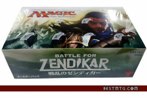 MTG Battle for Zendikar Booster Box Sealed Japanese