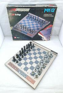 Saitek SciSys Kasparov MK12 electronic chess computer boxed - Tested
