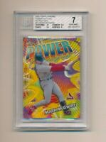 2000 Topps Chrome Power Players Refractor Mark McGwire BGS 7
