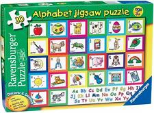 Ravensburger ALPHABET PUZZLE 30PC JIGSAW PUZZLE Toys Games BNIP