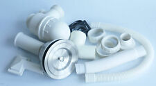 Single Basket Strainer Plug Waste Kit Overflow kitchen Sink & Plumbing