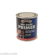 * Paquete De 2 * HAMMERITE Rojo Óxido Primer [5092844] Para Oxidada Iron & Steel 500ml