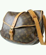 Authentic Louis Vuitton Saumur 35