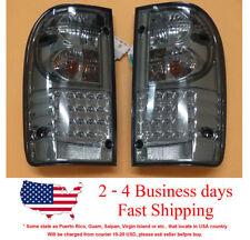 LENS SMOKE LED LH+RH REAR BACK TAIL LAMP LIGHT FIT TOYOTA HILUX MK5 MK 2002-2004