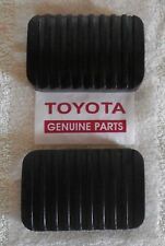 ***TOYOTA LAND CRUISER ~ LANDCRUISER FJ40-45-55 CLUTCH & BRAKE PEDAL PADS 58-78