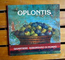 OPLONTIS Quartiere suburbano di Pompei MicroPlint 1993 archeologia