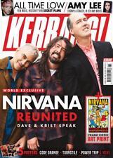 UK Kerrang! Magazine OCT 2018: Dave Grohl Nirvana Reunited + Amy Lee Evanescence