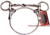 "D.A. Brand 5"" Stainless Steel Racing Ring Bit Horse Tack Equine"