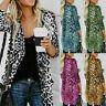 Blouse Coat Shawl Tops Loose Print Kimono Women's Leopard T-Shirt Boho Cardigan
