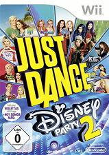 Just Dance: Disney Party 2 (Nintendo Wii, 2015, DVD-Box)
