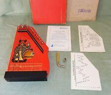 Kinder Musikinstrument Zither Musima OVP + Zubehör original Markneukirchen DDR