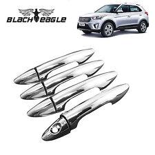 Black Eagle High Quality Chrome Handle Door Latch Cover for Hyundai Creta