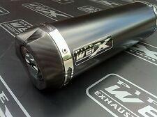 Honda CB 600 Hornet 2007 08 09 Black GP Carbon Outlet Race Exhaust Can R/Legal